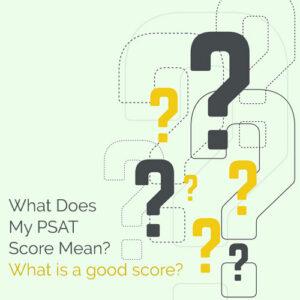 PSAT Score Explained